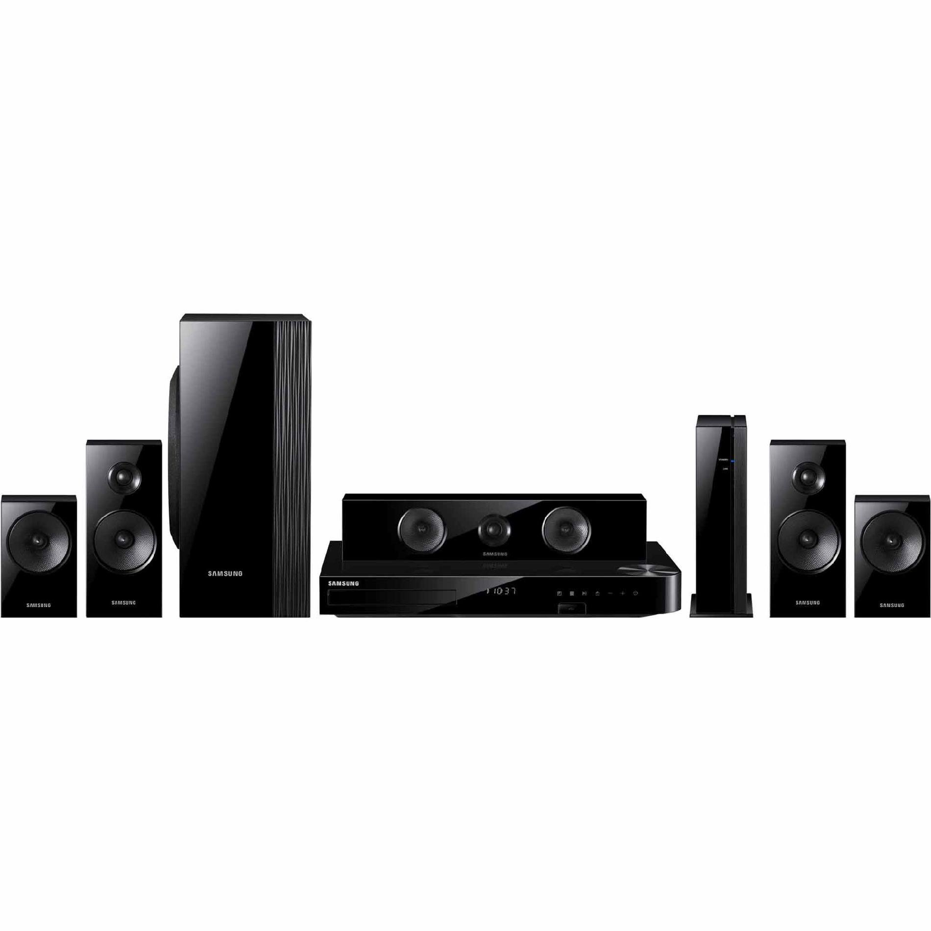 Samsung HT-H5500W-R 5.1 Channel 3D Blu-Ray Home Theater System Manufacturer Refurbished by Samsung