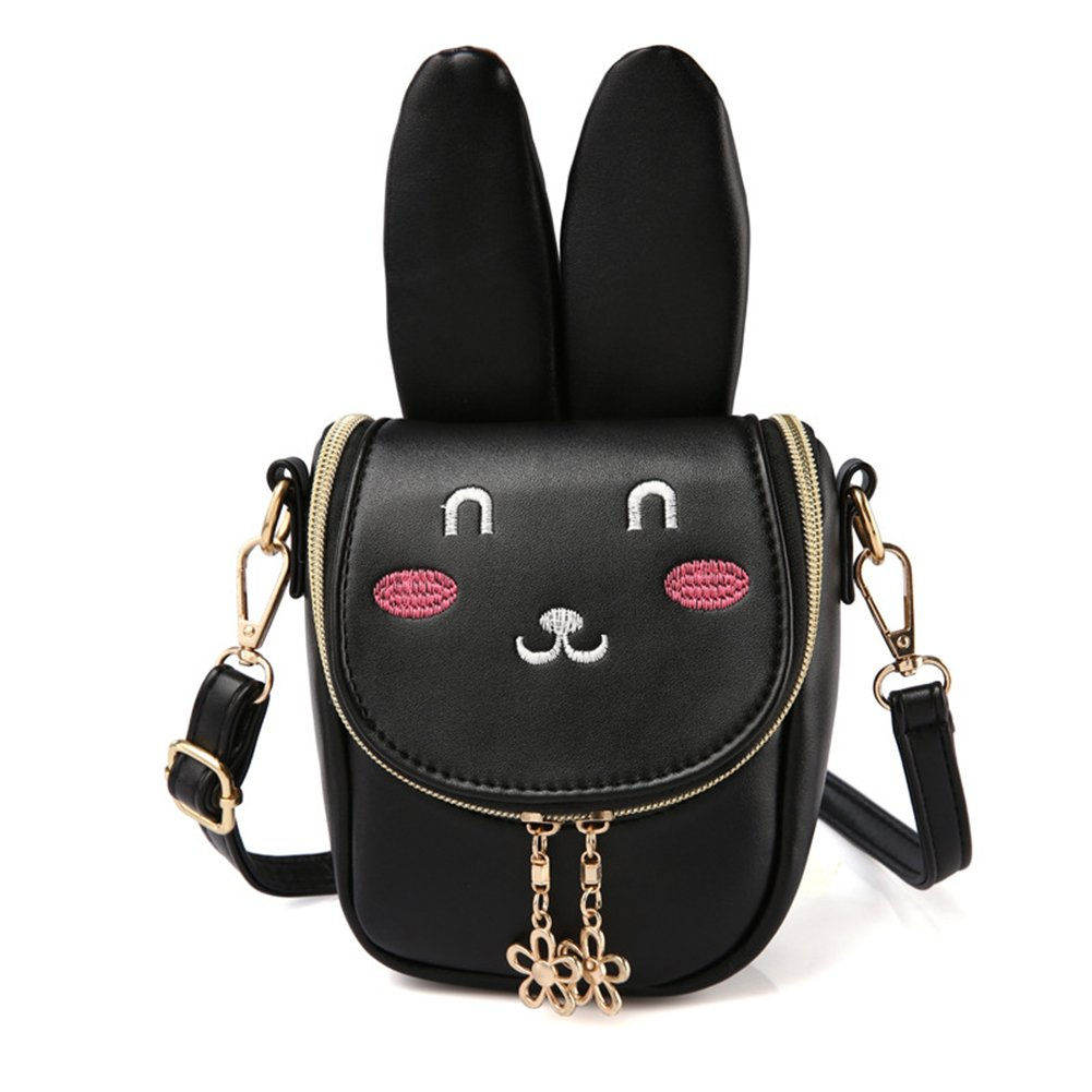 Mibasies Kids Bunny Purse Shoulder Bags For Girls Easter Day Gifts