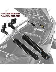 ONE BY CAMAMOTO AMORTISSEURS DE COUPLE MOTO T-MAX Selle de levage / support de rangement / porte-canne pour les modèles YAMAHA TMAX 500, années 2008/2009/2010/2011 et TMAX 530, années 2012-2016