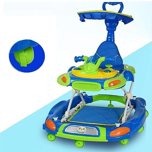 LFY Andador para bebés con Mango de Empuje y sombrilla ...