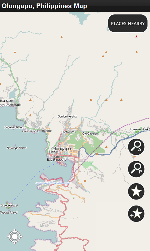 Olongapo Philippines Map.Amazon Com Olongapo Philippines Offline Map Appstore For Android