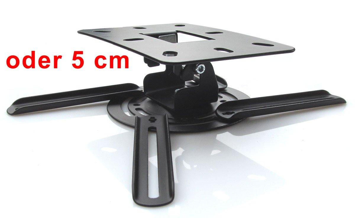 Model 3151 Beamer Projektor Deckenhalterung drehbar 360/° ausziehbar bis 55 cm wei/ß