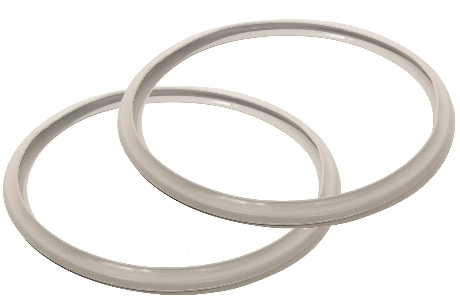 10 Inch Fagor Pressure Cooker Replacement Gasket (Pack of 2) - Fits Many 10 inch Fagor Stovetop Models (Check Description for Fit) Impresa Products BHBUSAZIN025134