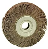 Arc Abrasives 10384 Unmounted Flap Wheels, 80 Grit, 8-Inch x 2-Inch x 1-Inch, 3-Pack