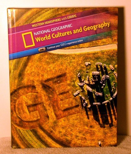 World Cultures and Geography Student Edition Western Hemisphere with Europe by Peggy Altoff (2012-11-01)