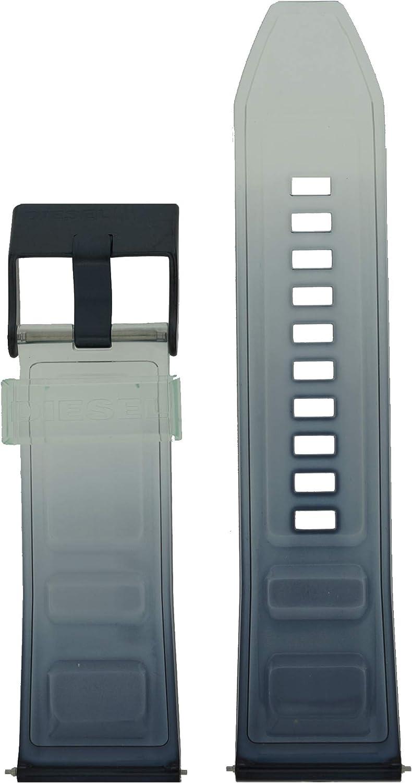 Diesel LB-DZ4487 - Correa de Repuesto para Reloj (Silicona, 26 mm), Color Azul