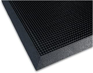 product image for Apache Mills Heavy-Duty Scrubber Entrance Mat, 32x39, Black