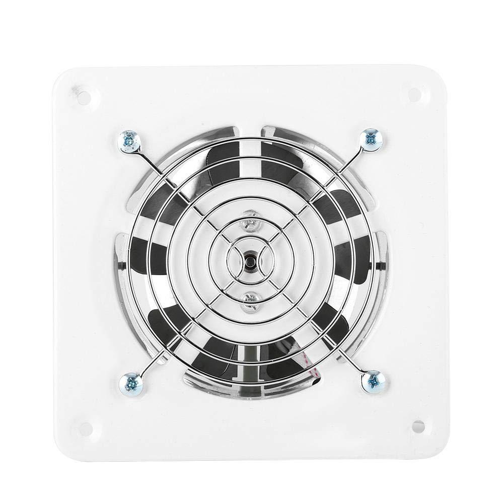 Ventilació n de aire de 4 pulgadas para el hogar, montaje en pared, ventilador de escape sú per silencioso para el hogar, bañ o, cocina, garaje, ventilació n, 25 W, 220 V ventilador de escape súper silencioso para el hogar baño