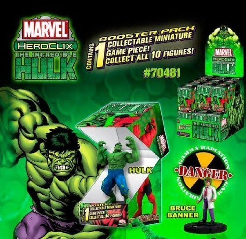 Marvel HeroClix: Incredible Hulk Single Blind Figure (1)