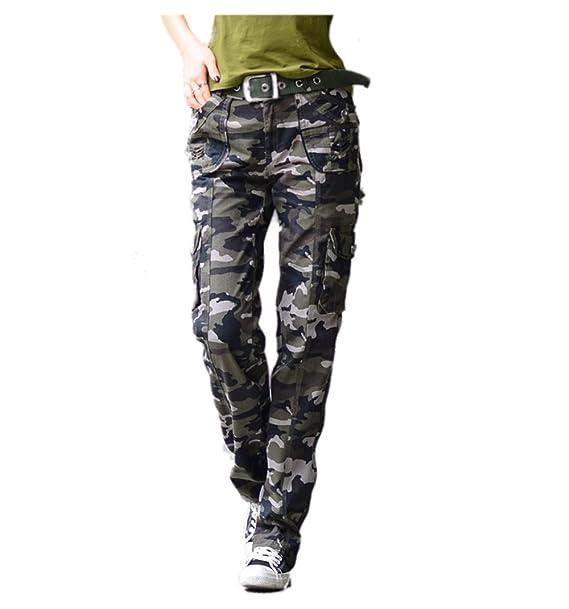 Mr. FF - Pantalones de Algodón para Mujer 0e35a5aadb10