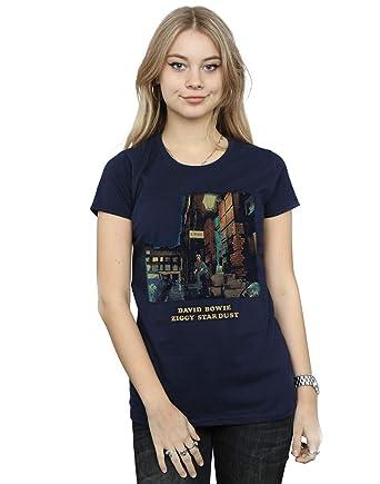 2ca196286d6 David Bowie Women s Ziggy Stardust T-Shirt  Amazon.co.uk  Clothing