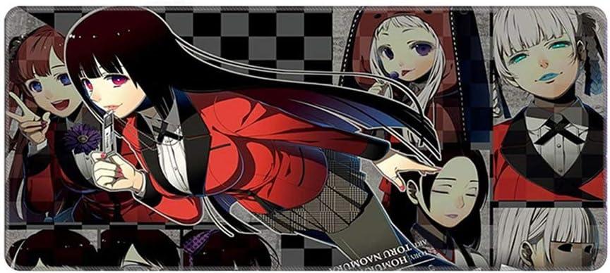Leotiee Kakegurui - Alfombrilla de ratón con diseño de anime ...
