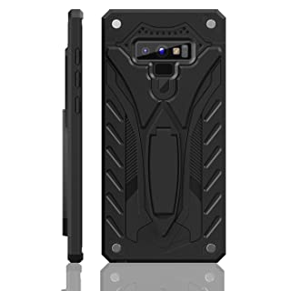 Samsung Galaxy Note 9 Case | Military Grade | 12ft. Drop Tested Protective Case | Kickstand | Wireless Charging | Compatible with Galaxy Note 9 - Black