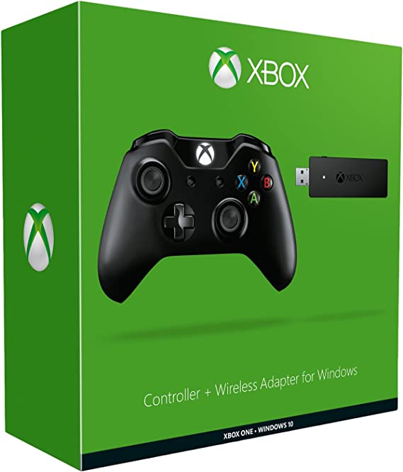 Xbox One Mando Para Pc (Windows) + Wireless Adaptador: Amazon.es: Videojuegos
