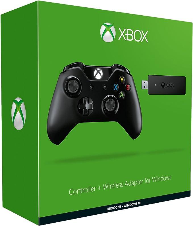 Xbox One Mando Para Pc (Windows) + Wireless Adaptador: Amazon.es ...
