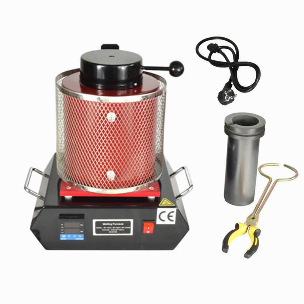 SenderPick - Horno de fundición digital (3 kg, 1150 °C, 2100 W ...