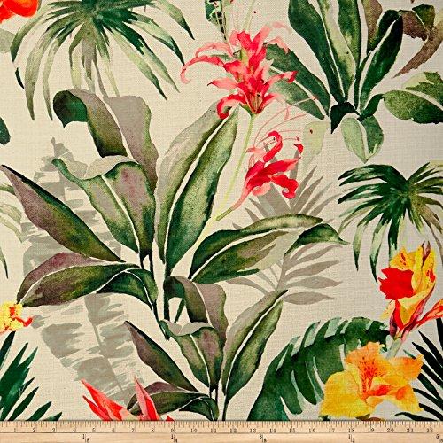 (14 Karat Home Tropical Breeze Clover Barkcloth)