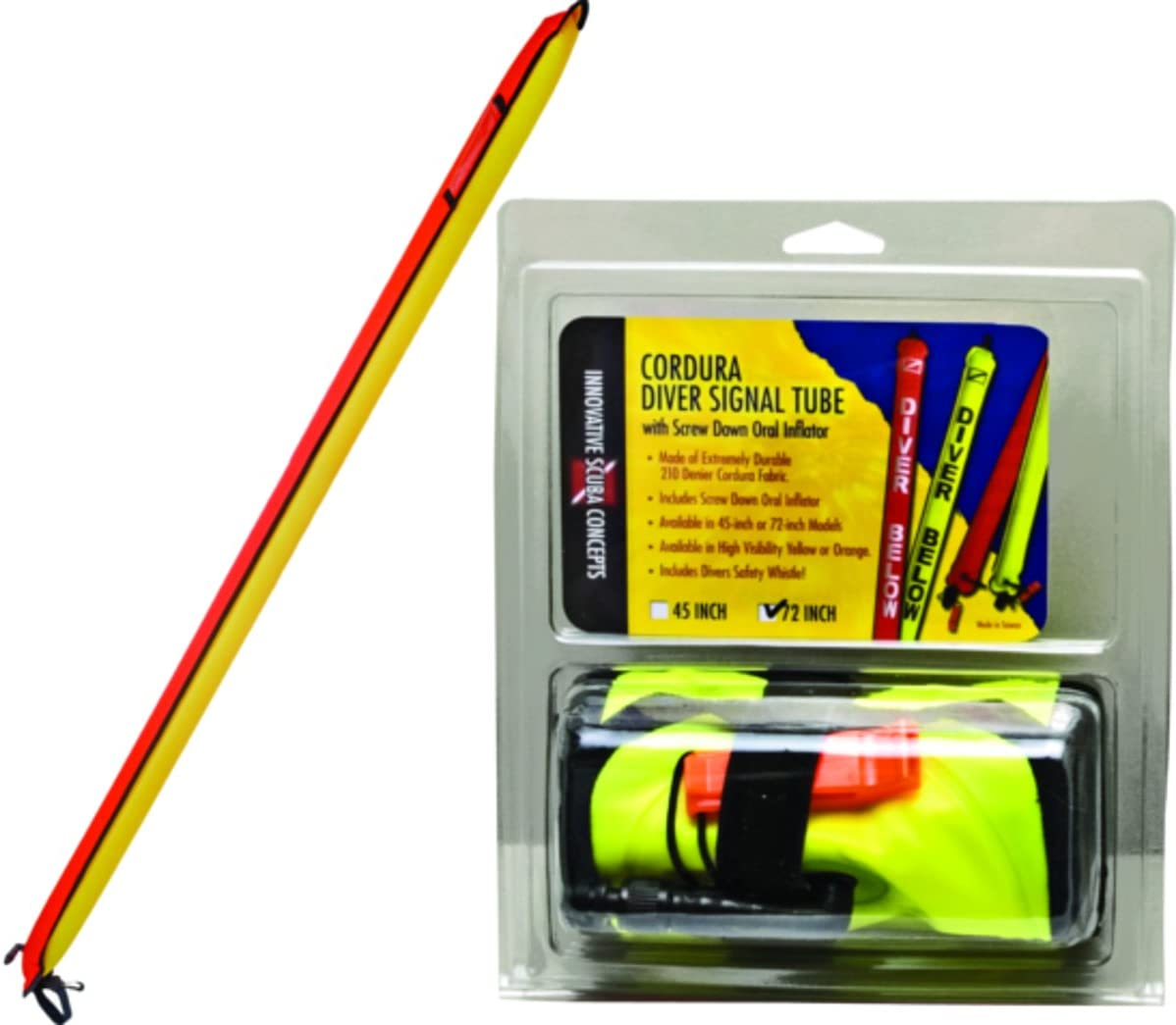 Zeagle Standard Dive Signal Tube with Inflator
