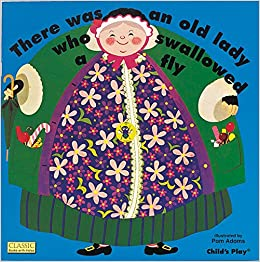 amazon com there was an old lady who swallowed a fly classic books
