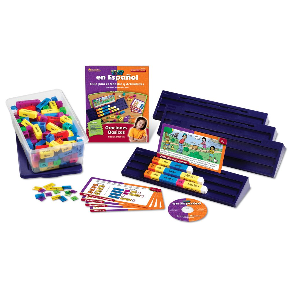 Learning Resources Spanish Reading Rods Kit: Oraciones Basicas