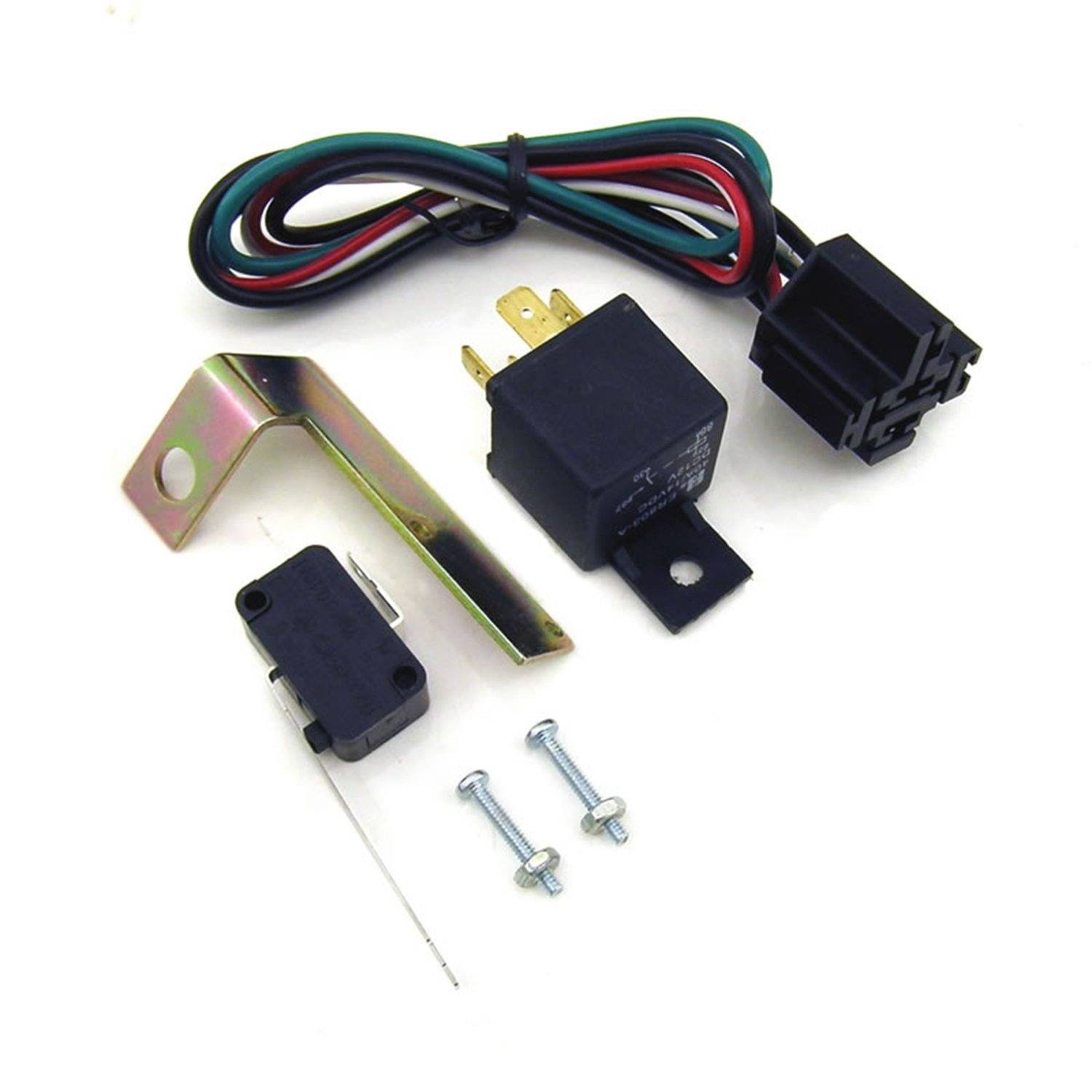 Nitrous Express 15505 Dominator Wide Open Throttle Nitrous Control Switch with 40 Amp 4 Pin Relay and Harness