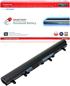 DR. BATTERY Compatible with Acer Laptop Battery AL12A32 Battery for Aspire V5 Notebook Battery E1 TravelMate P245 Battery 4ICR17/65 Acer AL12A42 Battery AL12A52 AL12A72 [33Wh/2200mAh/14.8V]