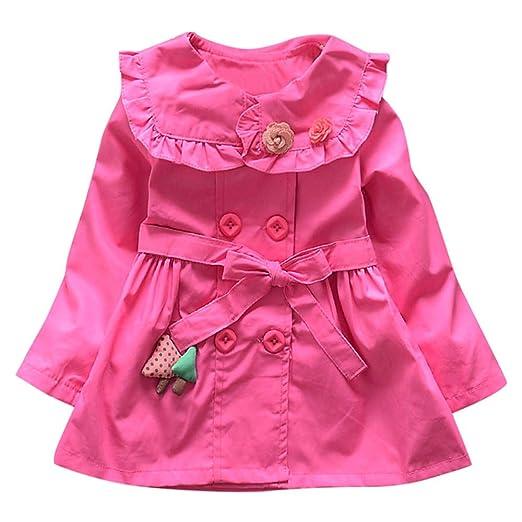 Amazon Lngry Baby Coattoddler Newborn Kid Girls Floral Button