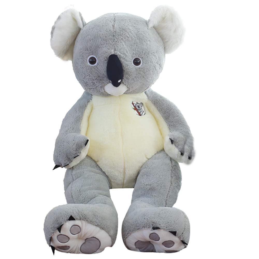 Plushtoy Muñeco de Peluche Koala, Lindo Abrazo muñeca, Regalo de cumpleaños de cumpleaños de Novia de niño 70 cm, 90 cm, 120 cm, 140 cm