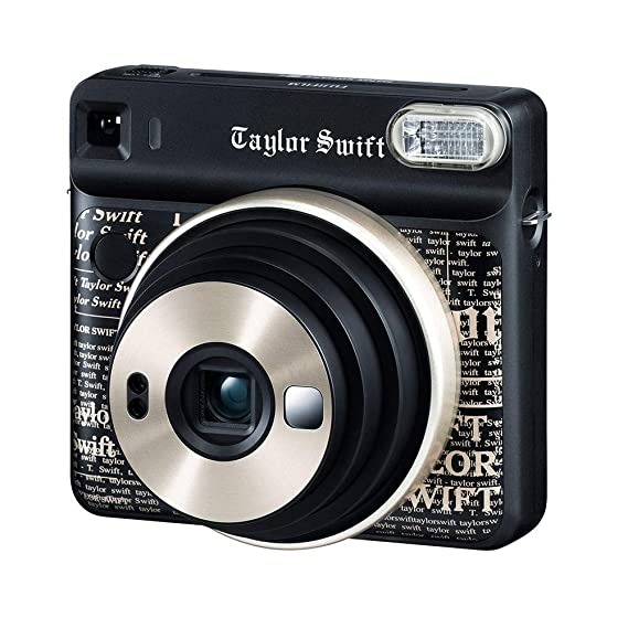 Fujifilm Instax Square SQ6 Taylor Swift Edition Instant Film Camera (Black) Instant Film Cameras at amazon