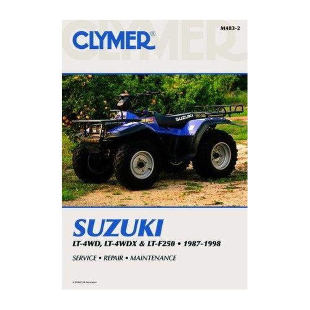 Amazon.com: Clymer Repair Manual for Suzuki ATV LT-F500F 98-00: Automotive