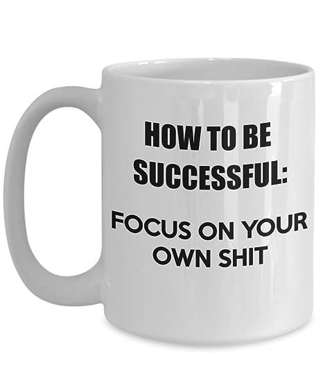 Amazon.com: Cómo ser exitoso centrarse en su propia cosas ...