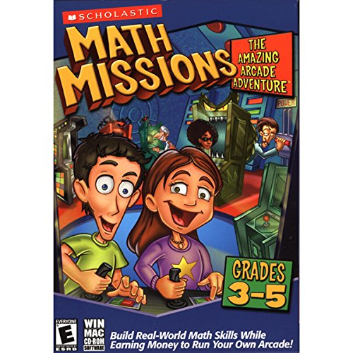Math Missions: The Amazing Arcade Adventure (Grades 3-5) with Math Card Game Age Rating:8 - - Spectacles Free Online
