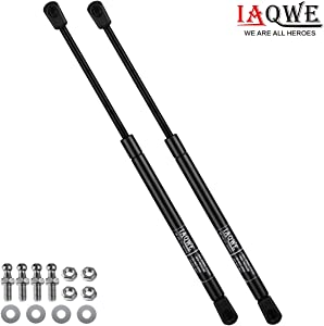 45Lbs/200N 17 Inch Gas Struts C16-04270 Lift Support Shocks for Camper Shell Rear Window Lid Stay Toy Chests Toolbox Kitchen Outdoor TV Cabinet 2pcs by IAQWE