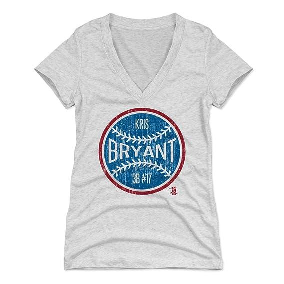 super popular b04f6 ab6c1 Amazon.com : 500 LEVEL Kris Bryant Women's Shirt - Chicago ...