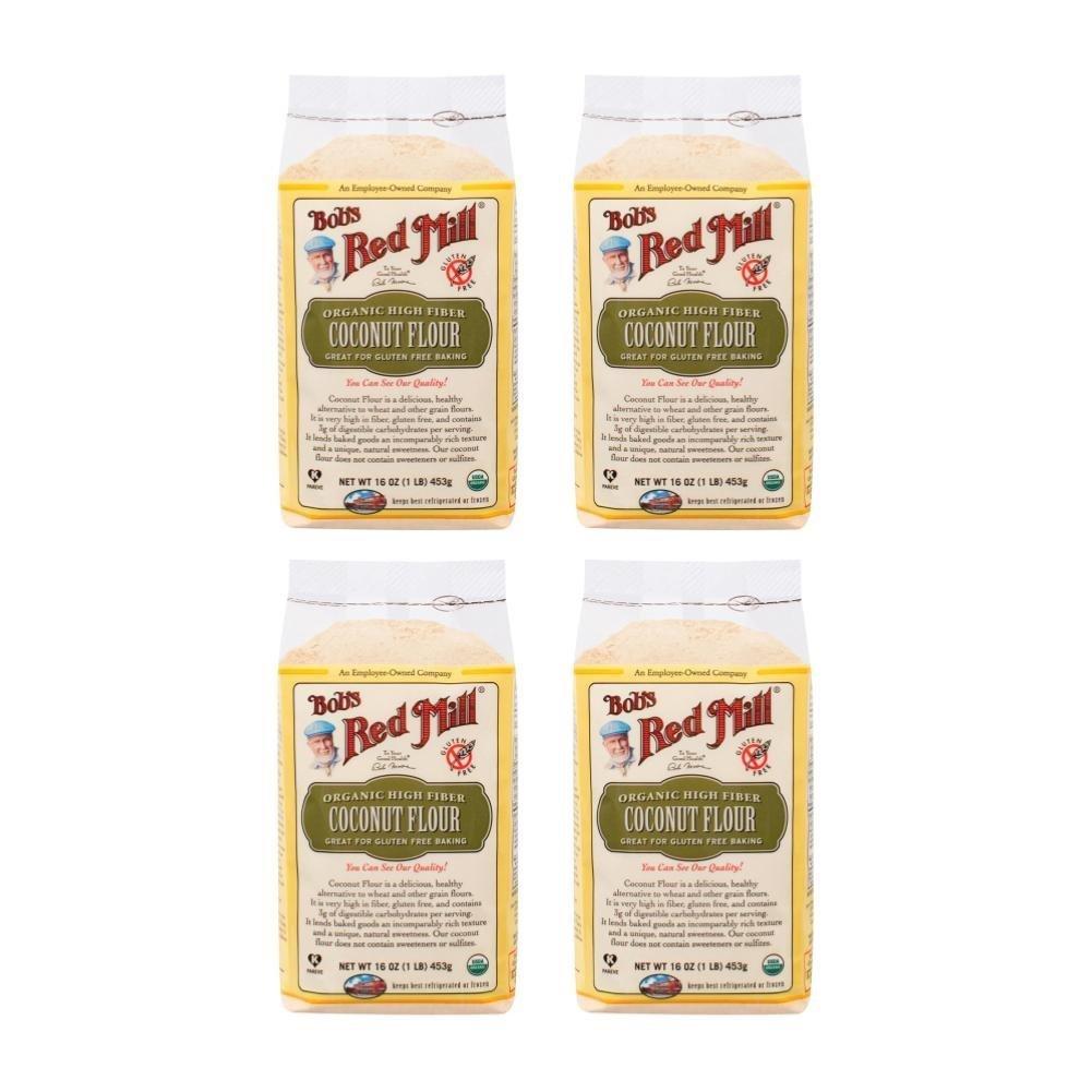 Bob's Red Mill Organic Coconut Flour-16 Oz-4 Pack