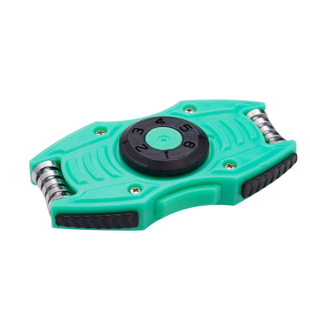 Dr.Qiiwi Car Type Fidget Spinner Toy Ultra Durable High Speed Pressure Releaser for Adult and Children Green