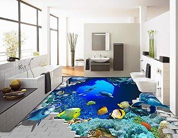 3d Fußboden Kaufen ~ Kuamai 3d boden malerei wallpaper 3d meer ansicht unterwasserwelt