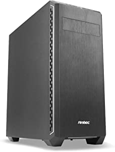 Antec Performance Series P7 Silent Mid-Tower PC Computer Case with Sound Dampening Panel, Rear/Front 120mm Fans x 2 Pre-Installed, 120/140mm Fan Mounts, Max 280mm Liquid Cooling ATX/M-ATX/Mini-ITX