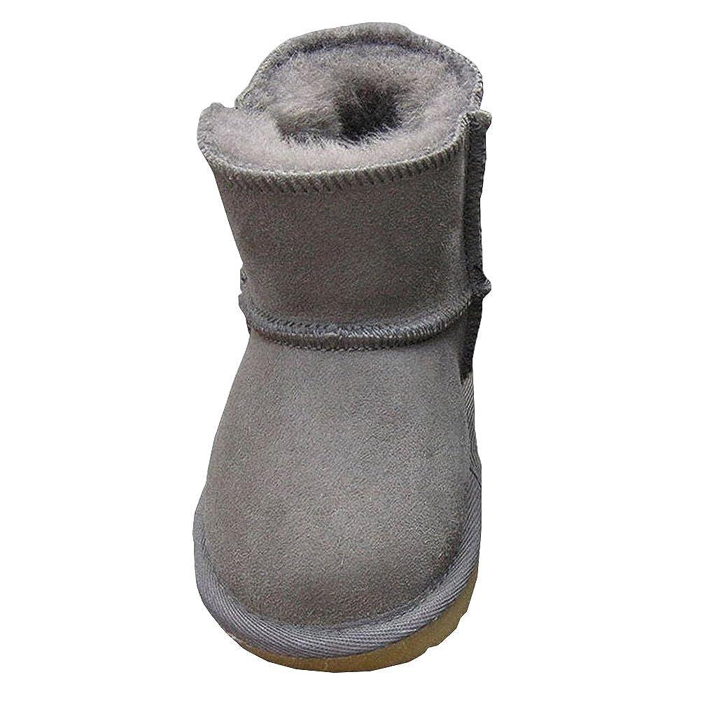 ACMEDE - Bottes de Neige Chaudes Et Souples Pour Enfants Bébé Fille Garçon En Hiver Chaussures Fourrure Snow Boots