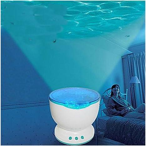 LED Calming Autism Sensory Proyector de luz juguete relax azul ...