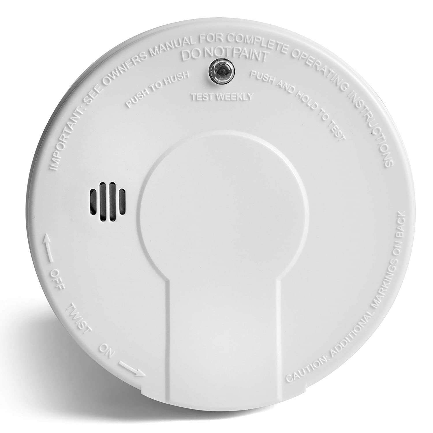 Kidde 21026051 Smoke Detector Alarm Battery Operated Model