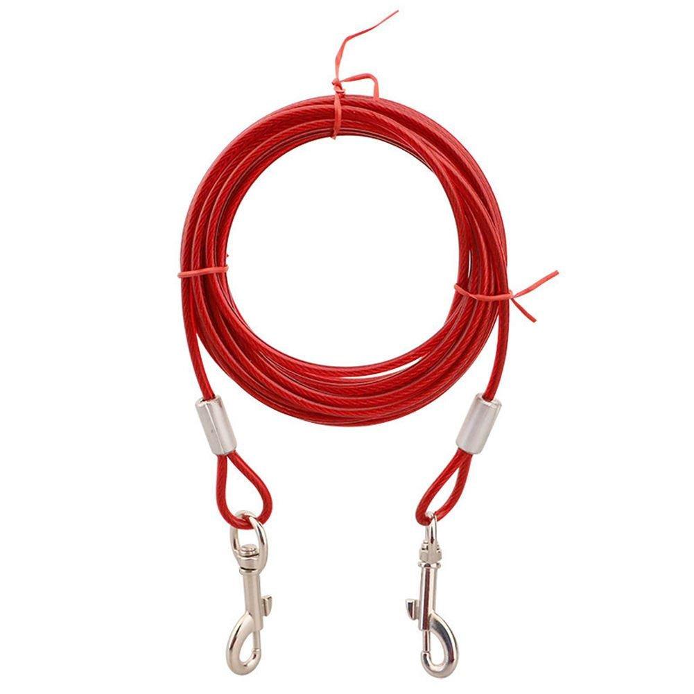 Laisse pour chien Innova - Câble solide - Chaîne résistante de 3, 5 ou 10 m Innova Brands Ltd