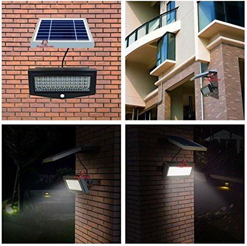 Commercial Solar Flood Lights Nz: High Power 1000Lumen Solar Motion LED Flood Light –10