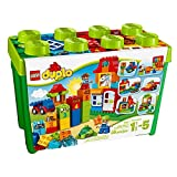 lego duplo classic - LEGO DUPLO Deluxe Box of fun 10580 Preschool Creative Play Toy