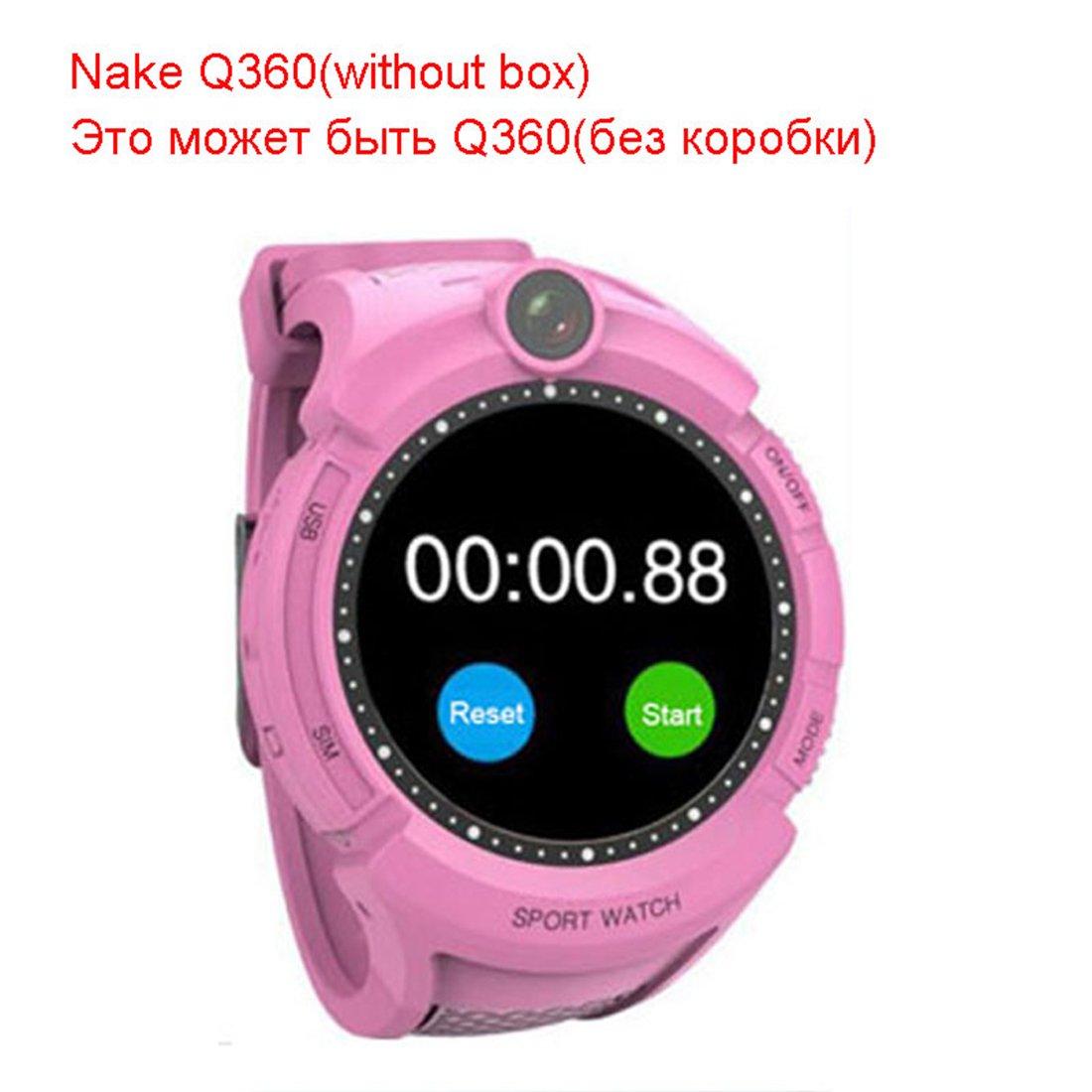 PINCHU Reloj Inteligente WiFi Bebé VM50 Niños GPS Q360 Niños Reloj ...