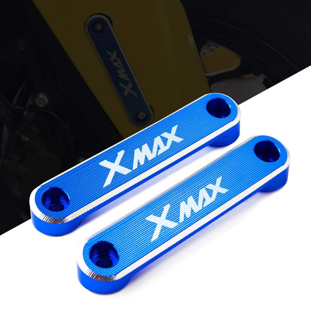 Cubierta decorativa de la placa del Coper del eje delantero de la motocicleta CNC para Yamaha Xmax 300 XMAX300 X-MAX 300 2017 2018