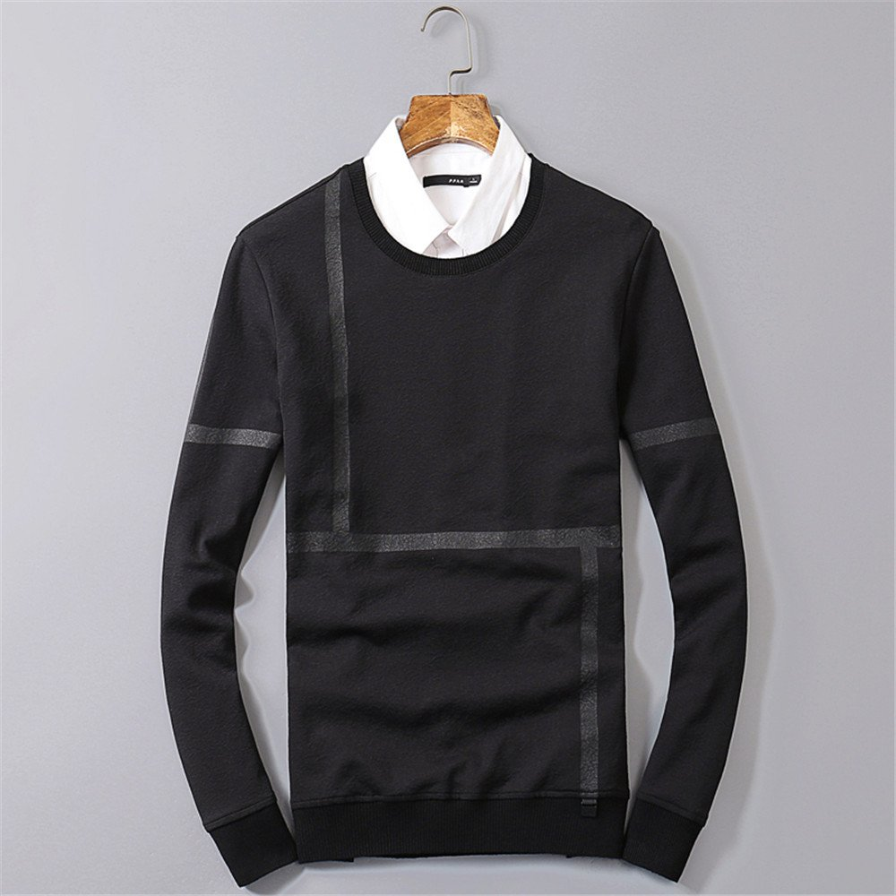 Lisux um den Hals - t - Shirt - Hoodies Hoodies einfach Mode Pullover unterstützung,schwarz,XL
