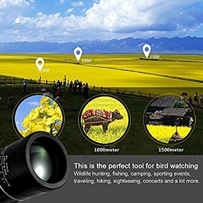 Monocular Telescope, 10X40 Dual Focus, Prism Film Optics,Waterproof, Monocular Scope for Birdwatching/ Hunting/ Camping/ Hiking / Golf/ Concert/ Surveillance