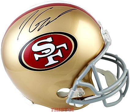 2812f7d5463 Jimmy Garoppolo Autographed Helmet - Full Size - Autographed NFL Helmets