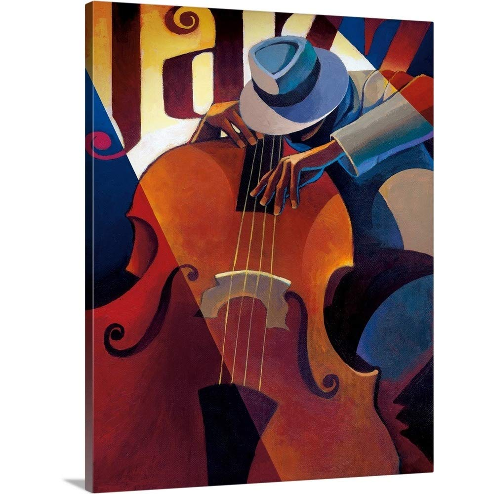 Keith Mallettプレミアムシックラップキャンバス壁アート印刷題名Straight Ahead 24